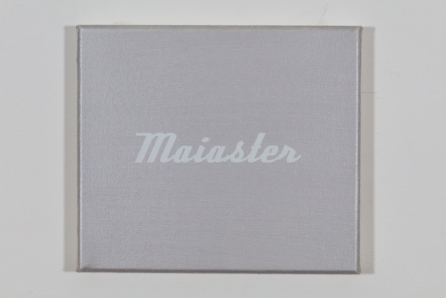 'Maserati' 2019, Öl auf Baumwolle, 20 x 23 cm Ed. 1/2 (sold)