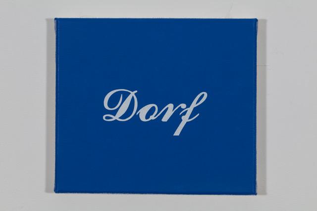 'Ford' 2019, Öl auf Baumwolle, 20 x 23 cm Ed. 1/2 (sold)