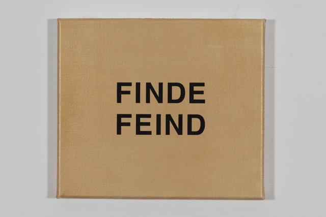 'Fendi' 2019, Öl auf Baumwolle, 20 x 23 cm Ed. 1/2 (sold)