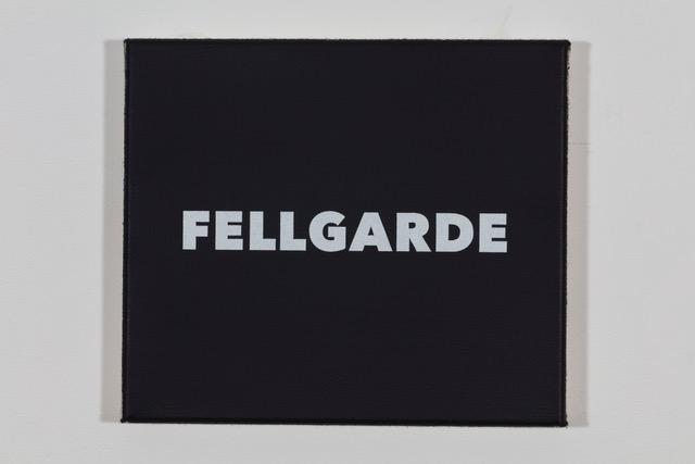 'Lagerfeld' 2019, Öl auf Baumwolle, 20 x 23 cm Ed. 1/2
