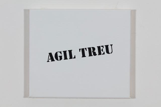 'Jean Paul Gautier? 2019, Öl auf Baumwolle, 20 x 23 cm Ed. 1/2 (sold)