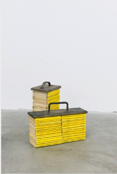 'For all I know' 2013, Mixed media, 33x18x12cm, 24x32x10cm