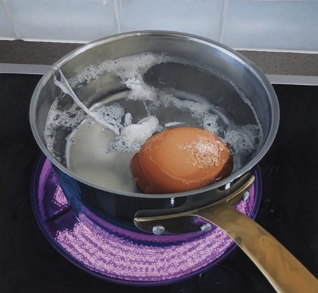 'Küchenstück' 2011, oil on canvas, 85 x 93 cm