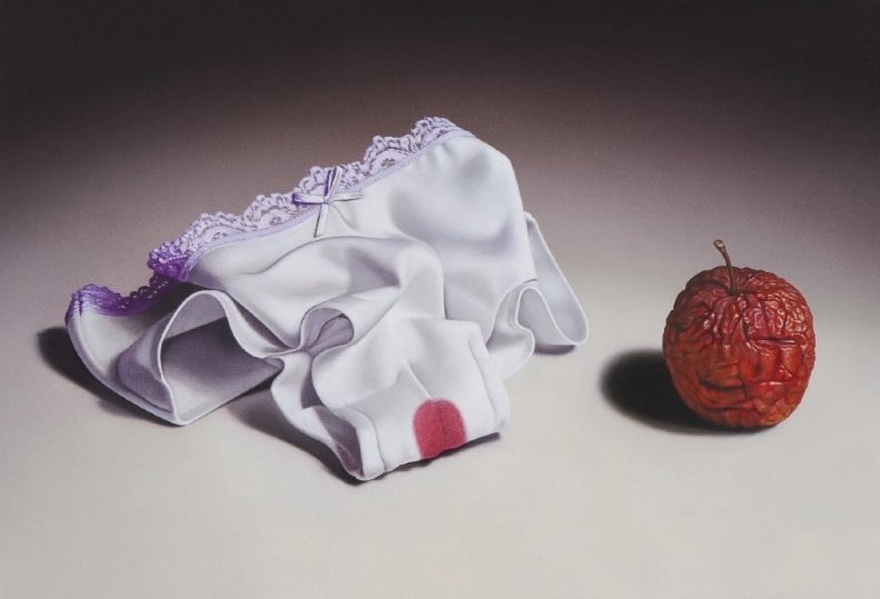 'Kleines Stilleben II' 2009, oil on canvas, 28 x 41 cm