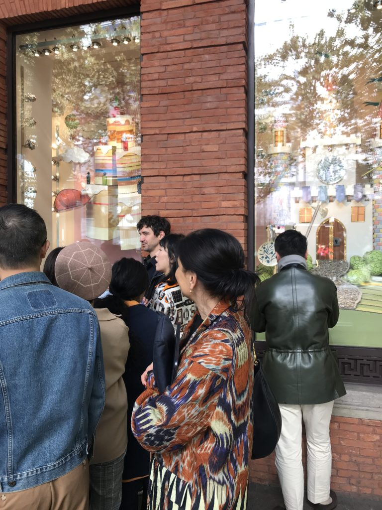 Unveiling Hermès Winter Windows by Patrick Graf