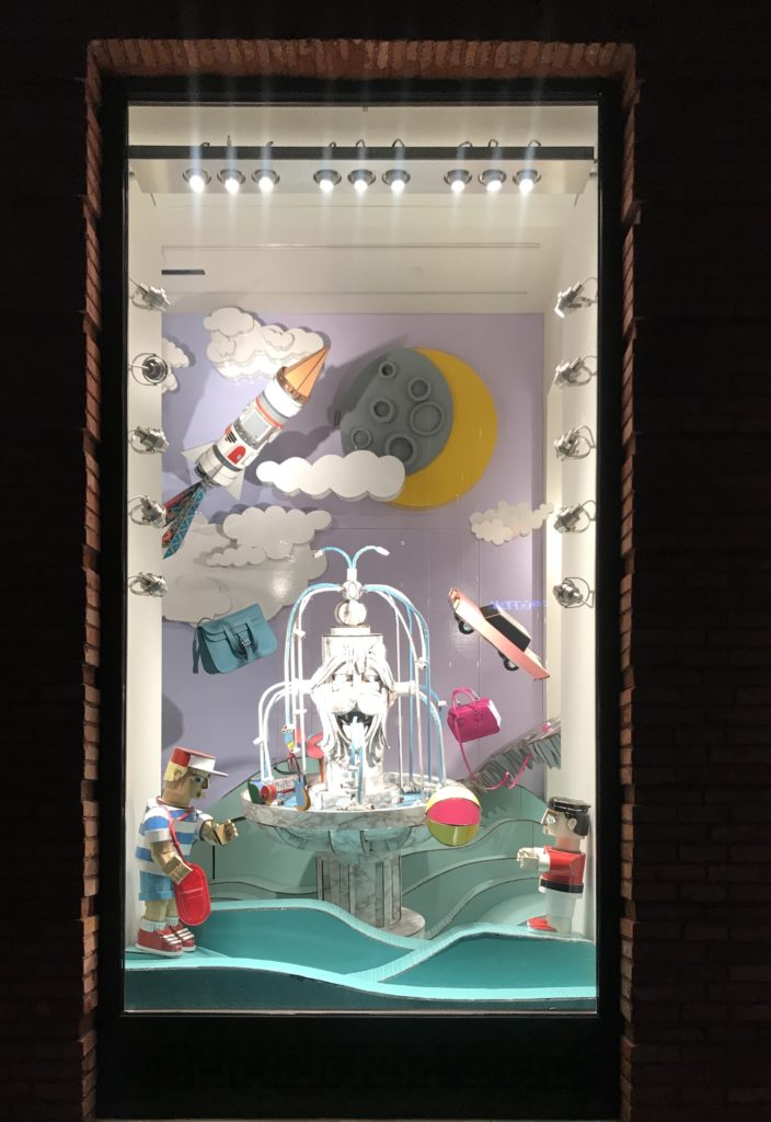 Hermès Winter Windows 2019 by Patrick Graf