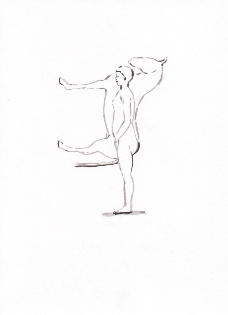 Sammlung, femme-cheval, 2018