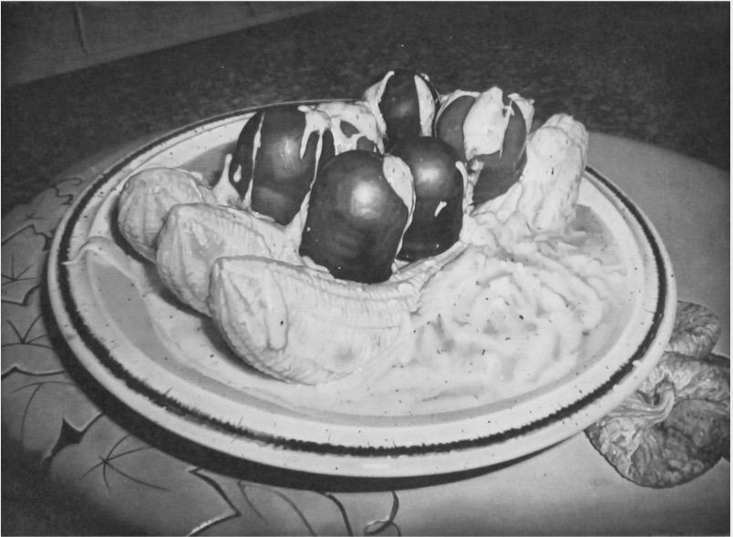 'Dessert' 2017, Heliogravure, 17 x 24 cm Ed. 3 (+2AP)