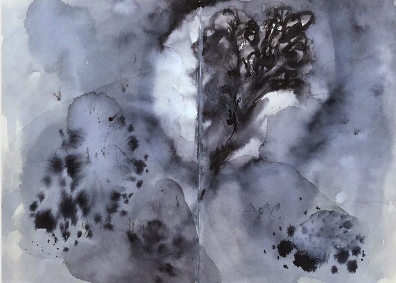 POORVI SULTANIA 'Sketchbook Pages - 2' 2020, Ink on Paper, 30 x 42 cm