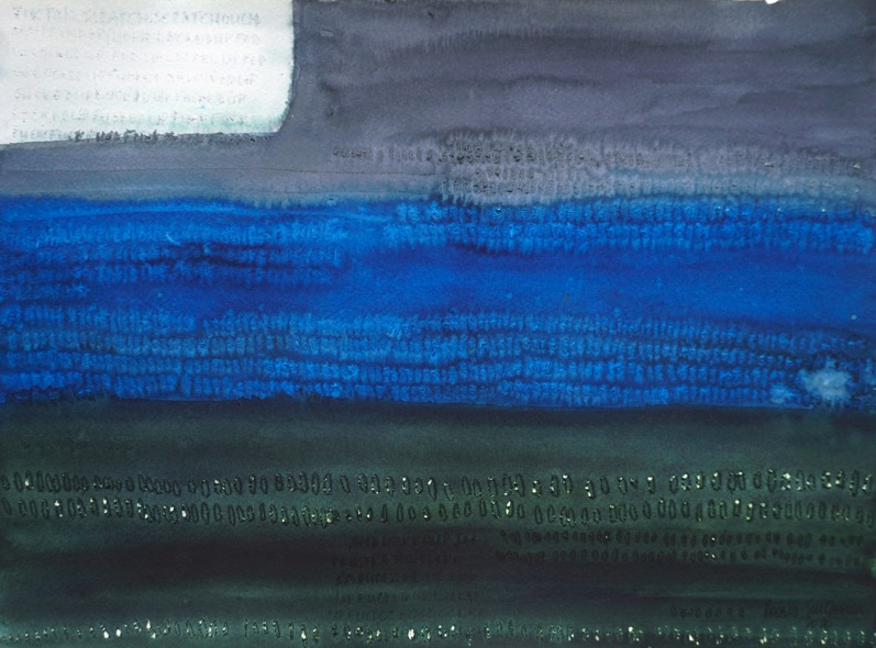 POORVI SULTANIA 'Silent Conversations in Rows of Three or More' 2020, Ink and Gouache on Paper, 29,5 x 40 cm
