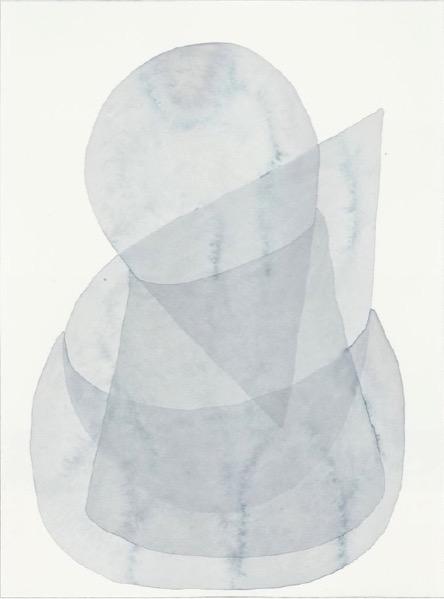 ANDREA HELLER 'Elemente' (aufgeräumt) 2014, ink on paper 31 x 23 cm