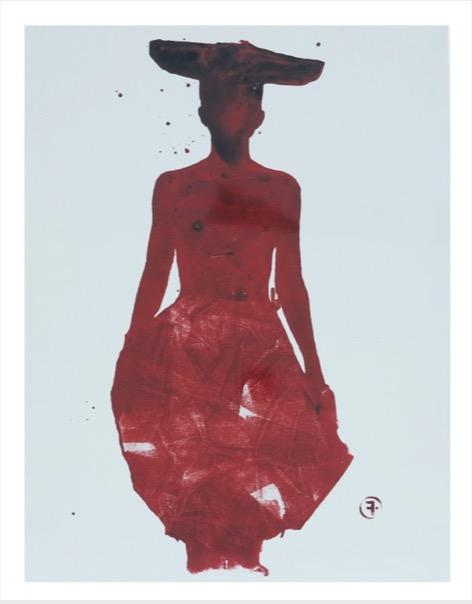 'Runway / Red' 2006, C-print on T-Bond, 35 x 45 Ed. 3 (+2EA)