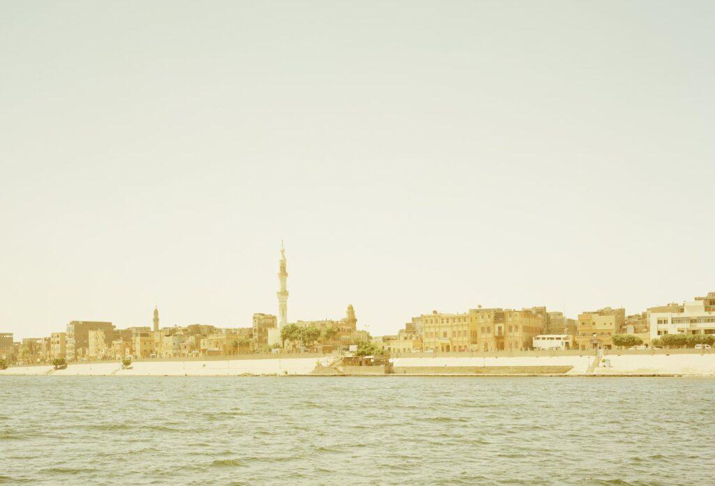 ELGER ESSER 'Esna I' (Ägypten) 2011, C-Print, Diasec Face, 138 x 184 x 5 cm, Ed. of 7