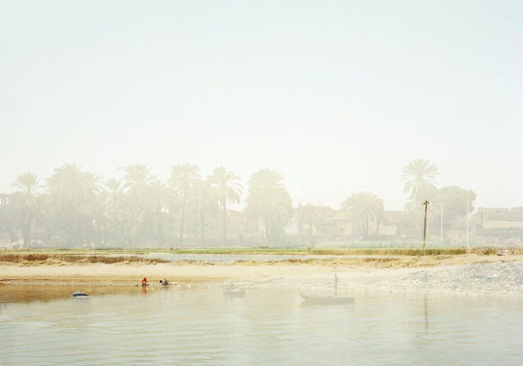 ELGER ESSER 'Fata Morgana' (Ägypten) 2011, C-Print, Diasec Face, 184 x 240 x 5 cm, Ed. of 7