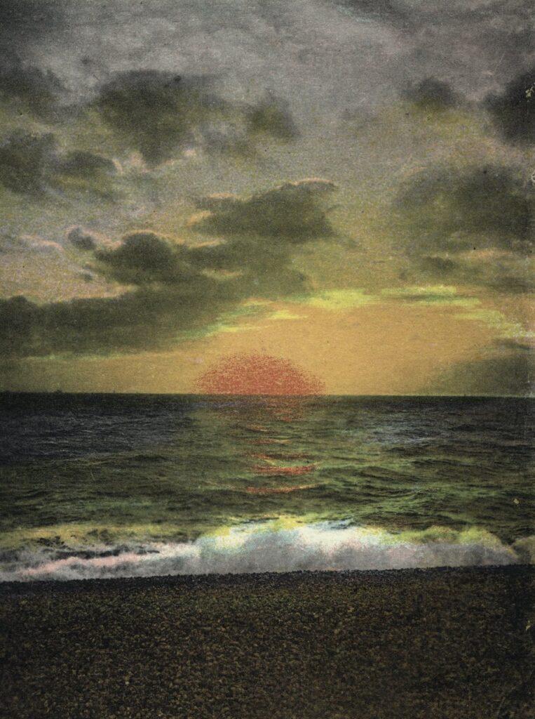 ELGER ESSER '4003 Soleil Couchant' 2005, C-Print, Diasec Face, Forex, 204 x 154 x 4 cm, Ed. of 5