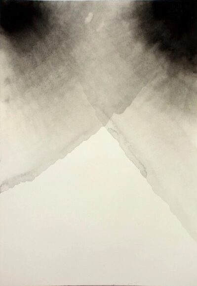 ANDREA HELLER 'untitled' 2013, ink on paper, 26 x 18 cm