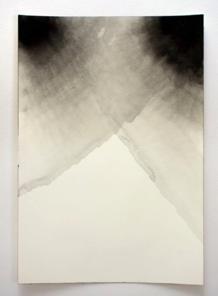 ANDREA HELLER 'Untitled', 2013, Ink on paper, 26x18 cm