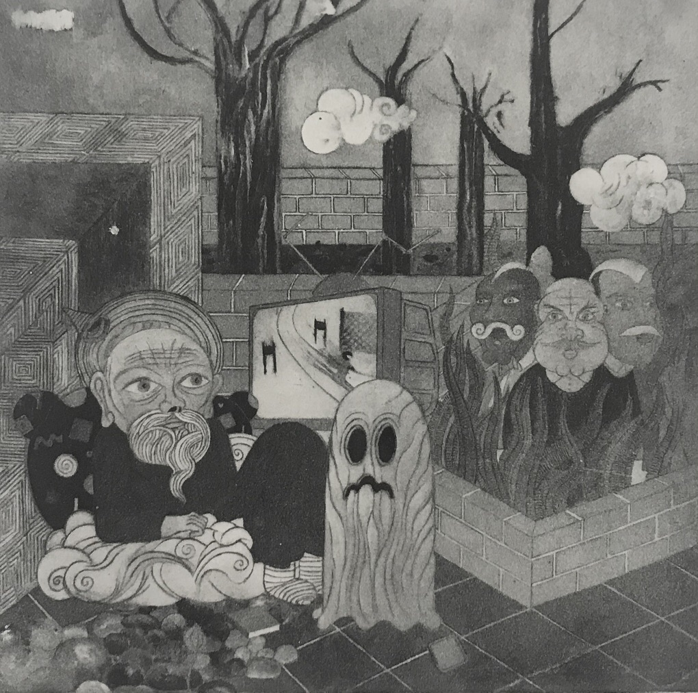 PATRICK GRAF 'Irgendeine Szene in der Welt b (Shanghai)', 2013/2020, Heliogravure, 40 x 40 cm, Ed. 3 (+2AP) CHF 950 (+VAT)