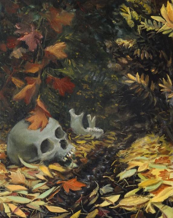 STÉPHANE ZAECH 'La lauréate',  2019, Oil on canvas, 50 x 40 cm
