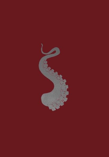 FRANÇOIS BERTHOUD 'Octopus'6, 2020, Oil and imitation silver pigment on paper, 50 x 35 cm, unique