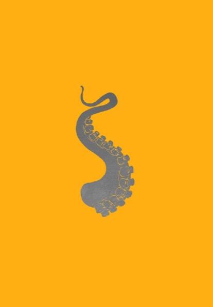 FRANÇOIS BERTHOUD 'Octopus' 14,  2020, Oil and imitation gold pigment on paper, 50 x 35 cm, unique