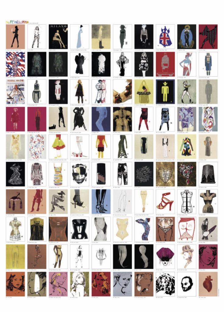 François Berthoud 'SUPERILLUMAN' 2003, 97 prints + metal box + frame, 65 x 50 x 5 cm, Ed. of 50